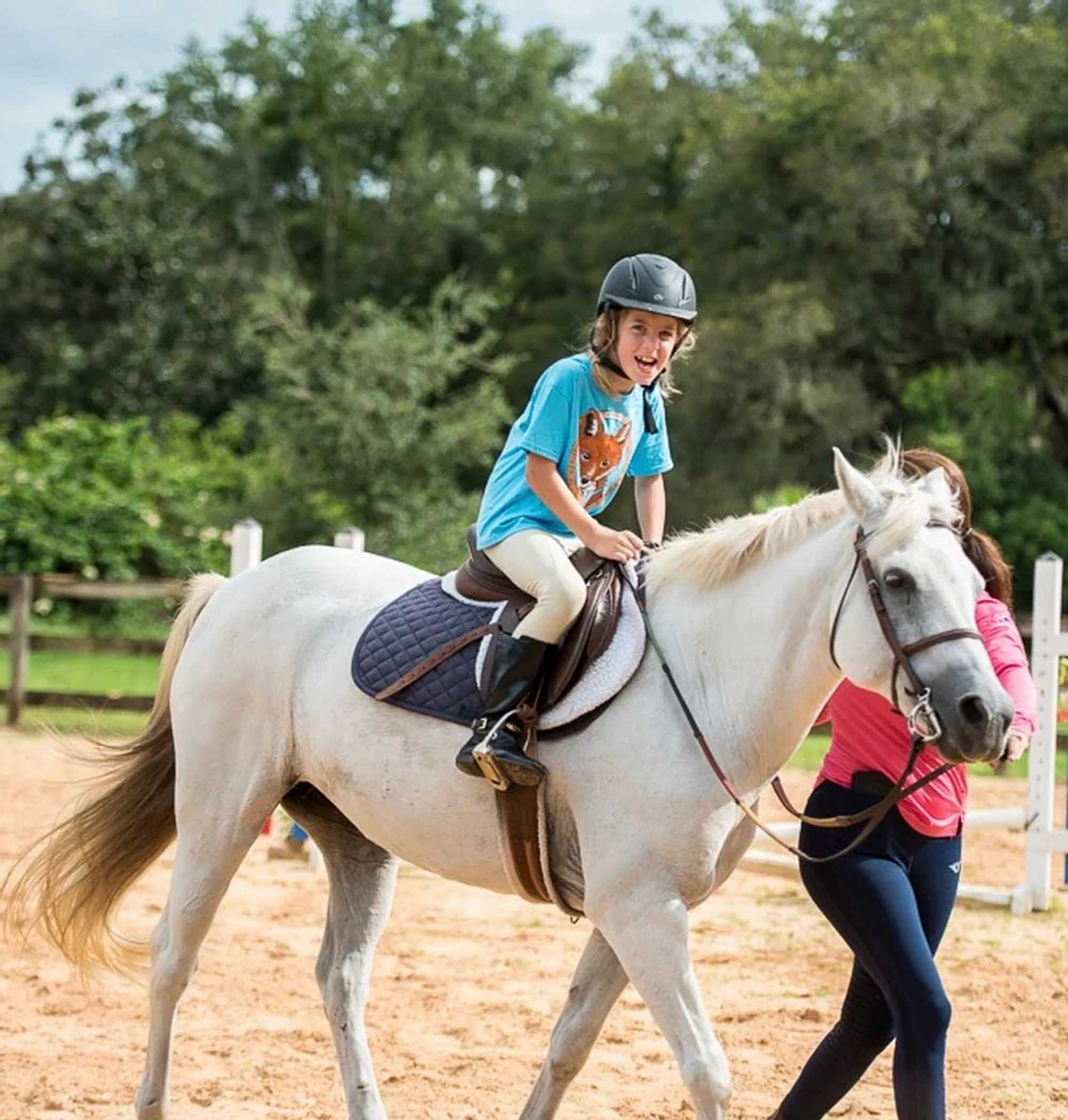 Therapeutic Horseback Riding For Children With Periodic Paralysis